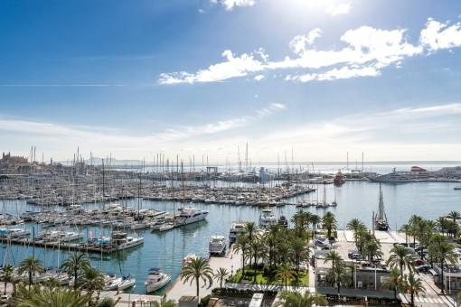 Exklusives Penthouse mit wunderschönem Meeblick in Palma