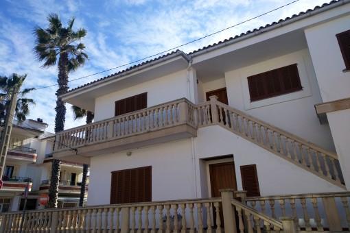 Möbliertes Apartment mit Meerblick und Garage in Strandnähe von Can Picafort