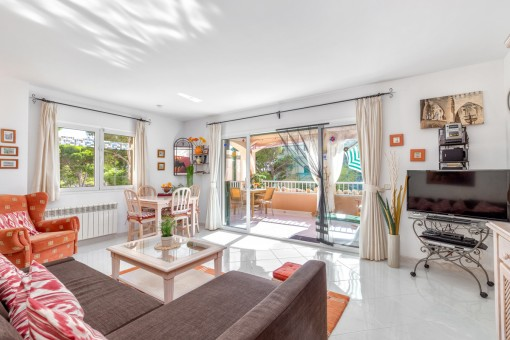 Herrlich schöne Wohnung mit Meerblick in Cala Ratjada