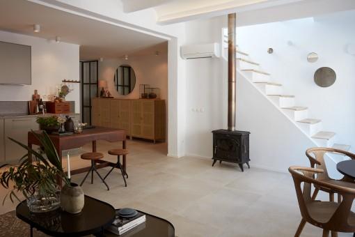 Komplett renoviertes Penthouse mit schöner Möblierung in der Nähe von Santa Catalina