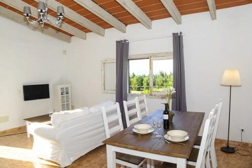 Landhaus bei Can Picafort mit 3 Schlafzimmern, eigenem Pool und kleinem Garten