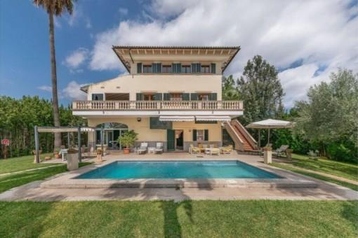 Schöne Villa mit Pool in Vilafranca