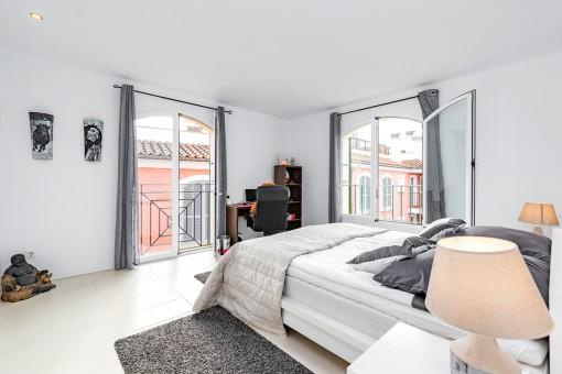 Eines von 4 Doppelschlafzimmern