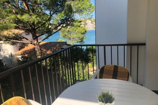 Tolle Wohnung mit direkten Meerzugang in Santa Ponsa