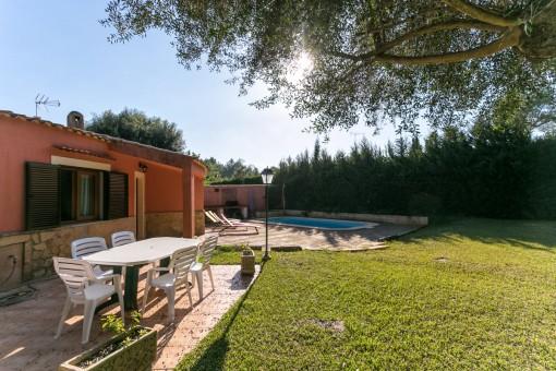 Gepflegtes Feriendomizil bei Pollensa mit Pool und tollem Garten mit Privatsphäre