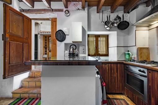 Schönes Dorfhaus im beliebten Stadtteil Santa Catalina in Palma