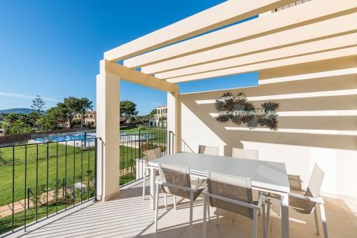 Tolle Neubauwohnung in einer Wohnanlage in ruhiger und besonders schöner Gegend in Portocristo