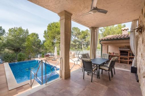 Wunderschöne, mediterrane Villa mit Luxusausstattung nahe dem Meer in Cala Vinyes