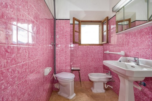 Charmantes Badezimmer