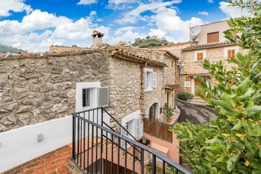 ¨Mon Bijou¨, ein wahres Juwel - Stadthaus mit Fussbodenheizung und Patio in Mancor de la Vall