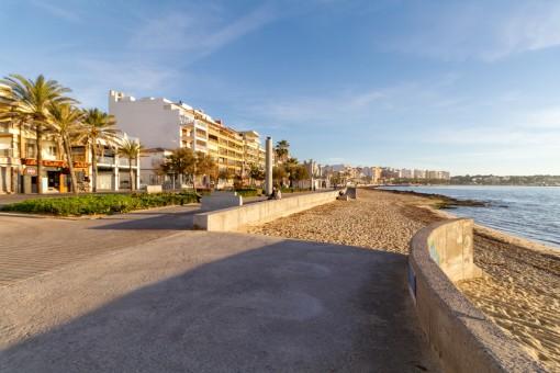 Apartment mit seitlichem  Meerblick an der Playa de Palma