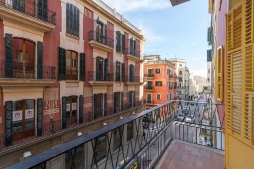 Komplett sanierte, elegante Wohnung im Zentrum von Palma