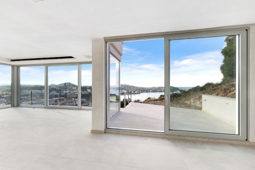 Zugang zur Meerblick-Terrasse