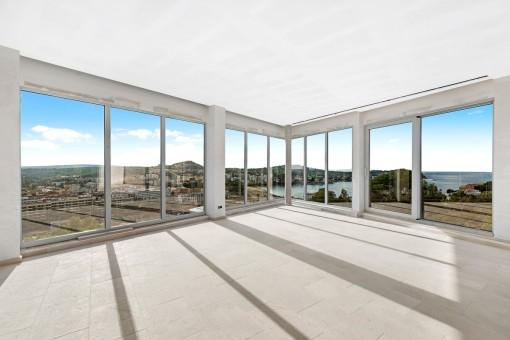 Villenprojekt mit fantastischem Meerblick in Santa Ponsa