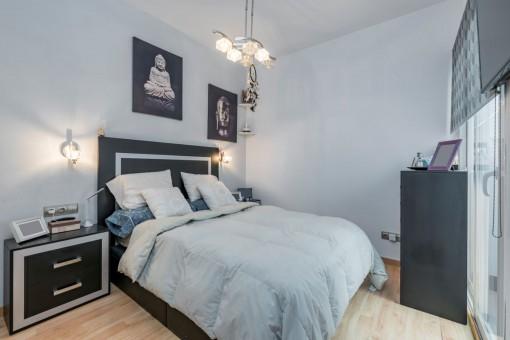 Eines von 2 Doppelschlafzimmern