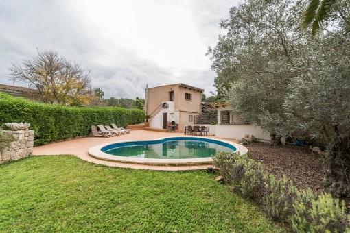 Hübsches Einfamilienhaus mit Pool in ruhiger Lage in Costa de la Calma