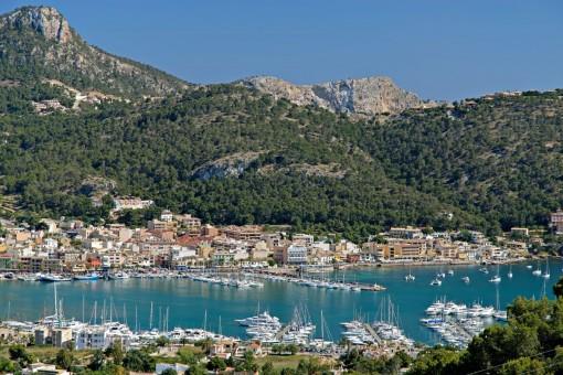 Wunderschöne Ansicht von Port d'Andratx
