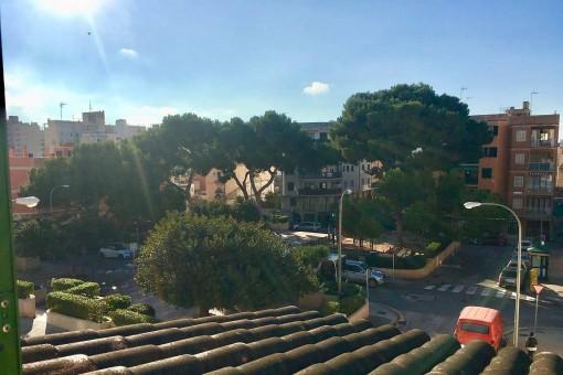 Möbliertes Reihenhaus mit Patio, Terrasse und Garage nur 200 Meter von der Playa de Palma entfernt