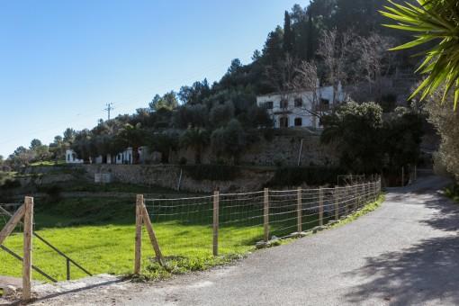 Zugang zur Finca