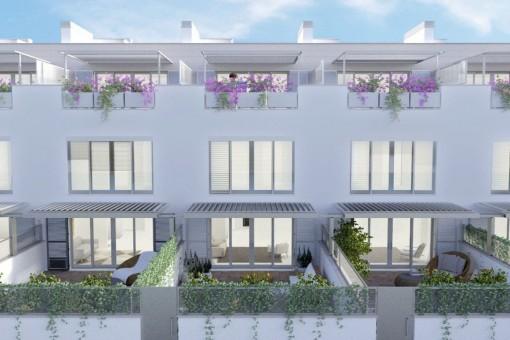 Neues, exklusives Haus mit Terrassen und Pool in Puerto d'Andratx