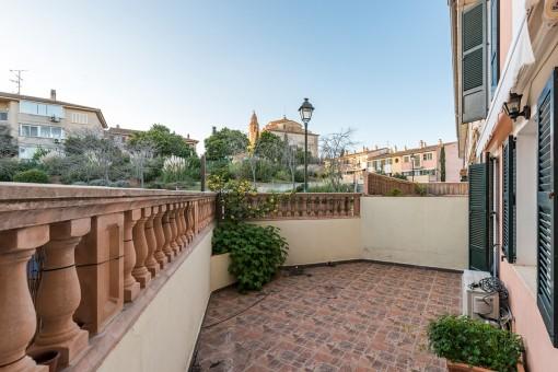 Preiswerte Erdgeschosswohnung in ruhiger Lage und schönem Wohnhaus im Dorf Calvià