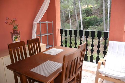 Exklusives Penthouse in einer ruhig gelegenen Wohnanlage in Santa Ponsa