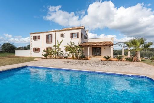 Landhaus mit Pool nahe Santanyí