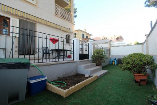 Schöne Erdgeschosswohnung mit privatem Garten in Son Ferrer