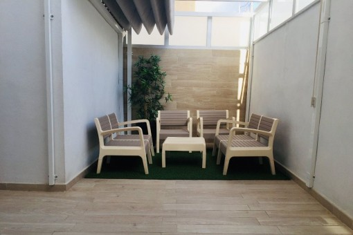Hochwertig renovierte 5-Zimmer-Wohnung mit Tiefgarage, Balkon und Terrasse im Stadtteil Pere Garau in Palma