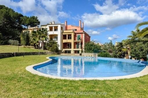 Herrlich schöne Wohnung in einer ruhig gelegenen Wohnanlage in Santa Ponsa