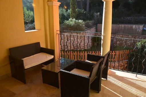 Schöne Wohnung in Top-Lage in einer exklusiven Wohnanlage in Santa Ponsa