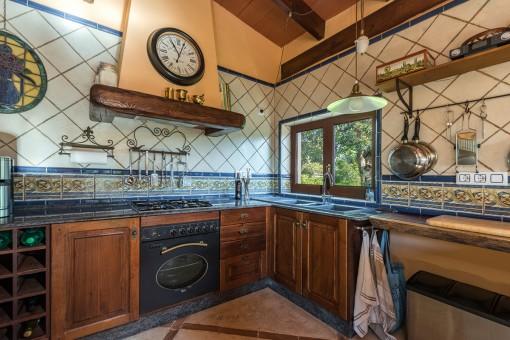 Wunderschöne, rustikale Küche
