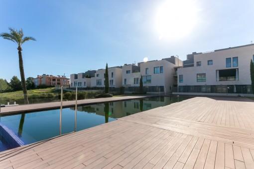 Schicke 2-Schlafzimmer-Wohnung direkt am Golfplatz Son Quint in Son Rapiña