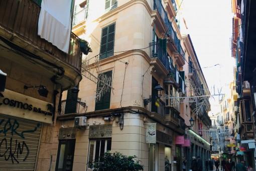 Charaktervolle, zentral gelegene Altstadtwohnung im Stadtkern von Palma