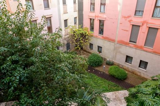 Ansicht vom Apartment aus