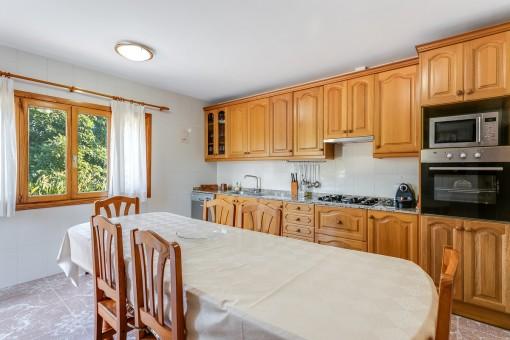 Weiterer Essbereich in der Küche