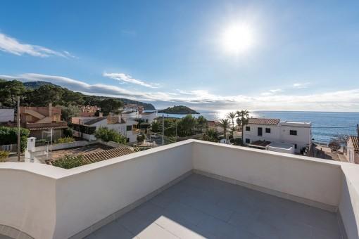Freistehendes Haus mit Meerblick in San Telmo