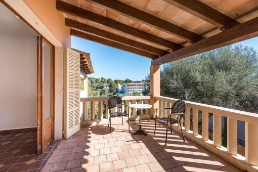 Renoviertes Apartment mit Balkon und großer Dachterrasse in Strandnähe von Cala Santanyí
