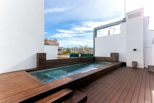 Exklusive Maisonette-Wohnung in Terreno finanziert Ihren Kauf durch Vermietung