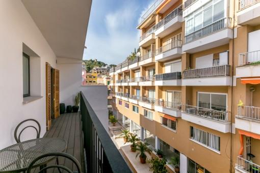 Reizender Balkon
