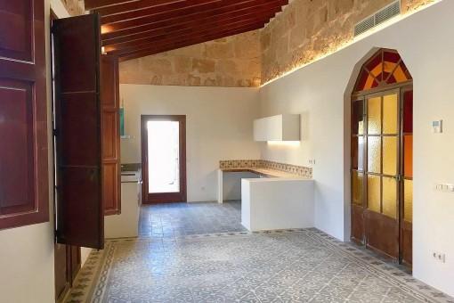 Top-renovierte Altbau-Penthauswohnung mit mediterranem Charme und Dachterrasse in Palma - El Terreno
