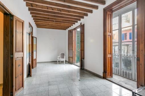 Schönes Altstadtgebäude mit 8 Wohnungen in Palma