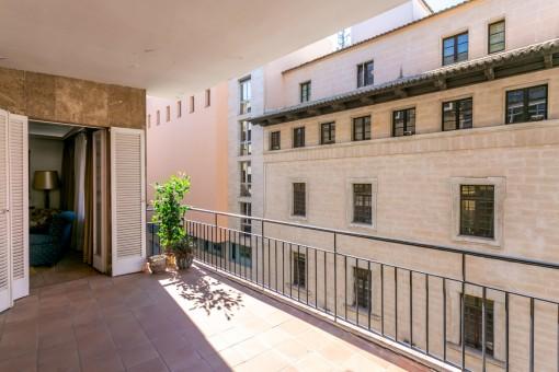 Große Wohnung im Herzen von Palma mit Balkon