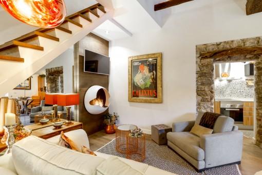 Schönes Haus in Valldemossa, komplett von international renommiertem Innenarchitekten eingerichtet