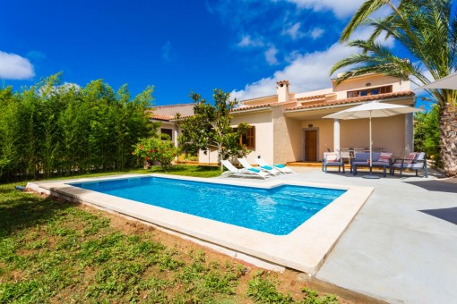 Schönes Einfamilienhaus mit Pool und Vermietlizenz in Sa Coma