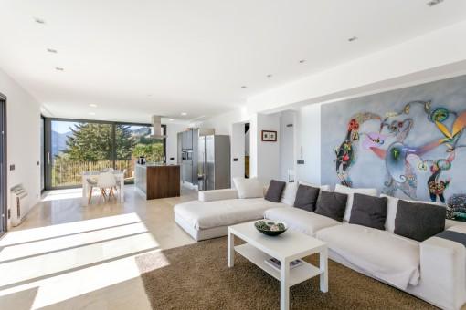 Stilvoller Wohnbereich
