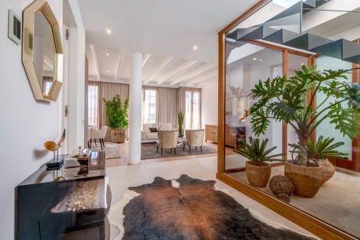 Luxuriöser Wohnbereich