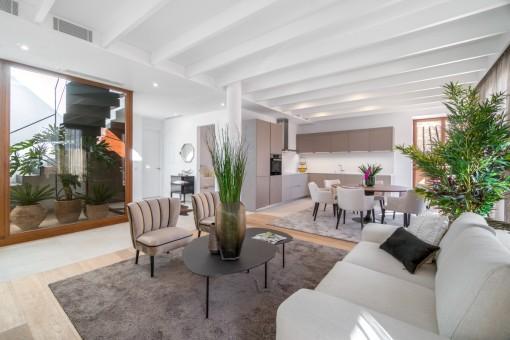 Hochqualitativ, luxeriöses Wohnen über den Altstadt- Dächern in Palma