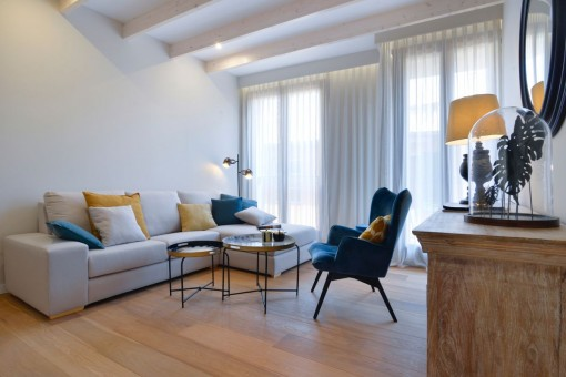 Luxuriöses Wohnen im historischen Zentrum von Palma