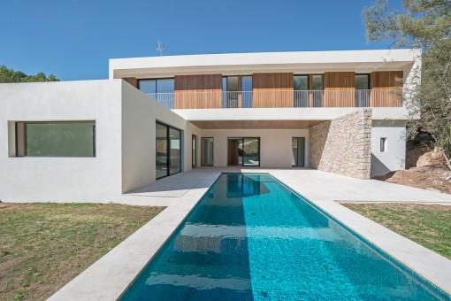 State of the Art Design Villa mit besonders viel Privatsphäre in Son Vida